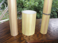 Bamfaux = imitation bamboo = enhanced PVC