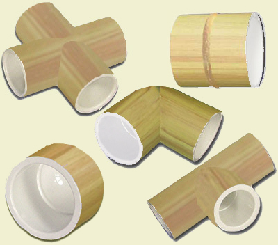Imitation Bamboo Couplings / Bamfaux Couplings